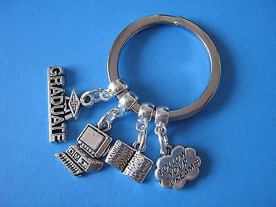 Computer Science Computer Keyring Computer PhD Research Graduation Gift Keychain