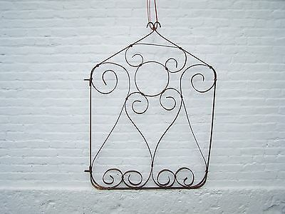 Antique Early Strap Iron Garden Gate, Architectural Salvage,primitive,aafa