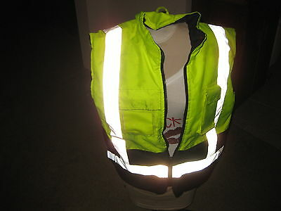 Safety Vest Class And Level 2 Size M