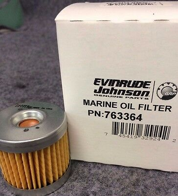 New BRP US INC. Evinrude/Johnson Oil Filter  763364