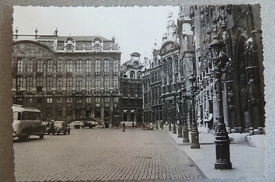 Lot 21 Photos Belgique Bruxelles Vers 1955