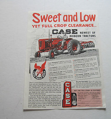 1953 2-Plow Low- Seater Tractors   ad