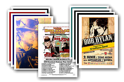 BOB DYLAN  - 10 promotional posters - collectable postcard set # 2