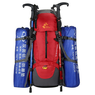 50L Travel Backpack Rucksack Hiking Festival Mountaineering Luggage Bag Pack
