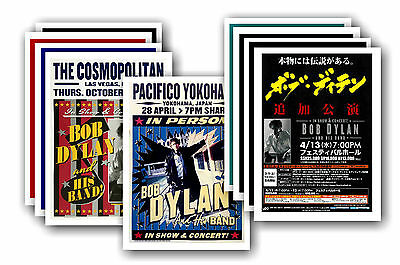BOB DYLAN  - 10 promotional posters - collectable postcard set # 4
