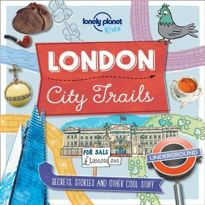 City Trails - London (Lonely Planet Kids) (Paperback), Lonely Pla...
