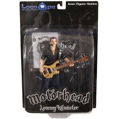 Mot?rhead Action Figure Lemmy Kilmister Rickenbacker Guitar Eagle 16 cm