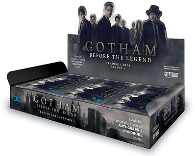 Gotham Season 2 Factory Sealed Trading Card Hobby Box