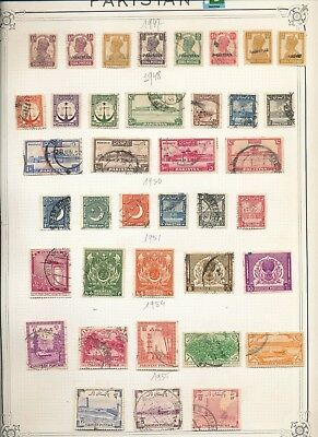 PAKISTAN 1947/80 Used Collection Incl.Service (Approx 150 Items) Au7650