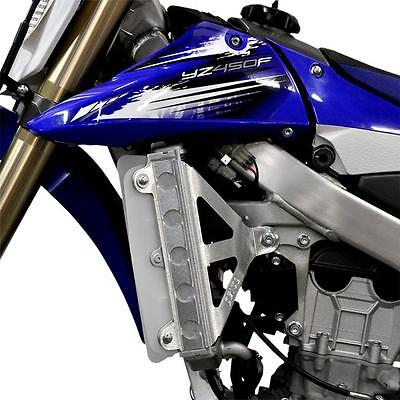 Devol Radiator Race Braces fits Yamaha YZ450F 2010-2013