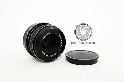 Carl Zeiss Jena Tessar 50mm 2.8 lens for M42 fit with caps