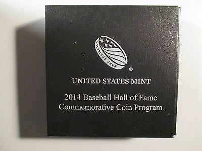 2014 Baseball hall Of Fame Commemorative Silver Dollar unc.