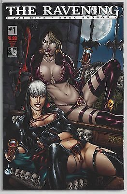 The Ravening #1 Kickstarter Ltd to 500 Succubi Variant Cover Boundless Comics