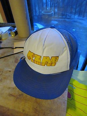 Vtg 1980's KZAP Radio Station.Mesh Truckers Cap.M/L.Continuous Rock & Roll 98.5