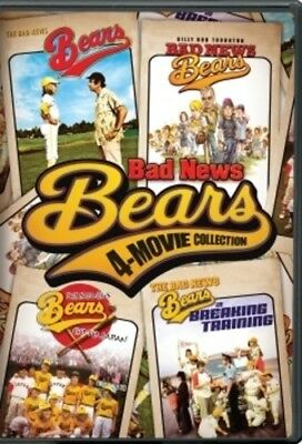 Bad News Bears 4-Movie Collection [New DVD] Boxed Set, Gift Set, Subtitled, Wi