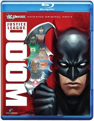 Justice League: Doom [New Blu-ray] With DVD