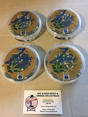 Nice Lot Of 4 New Containers (72) Champ Zarma Fast Twist Tri-Lok Golf Spikes