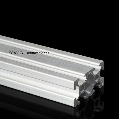 2pcs 2040 T-Slot Aluminum Profiles Extrusion Frame 500mm Length 3D Printer CNC