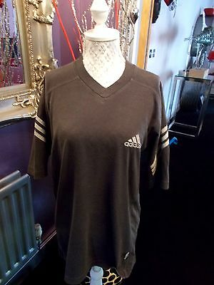 Mens Vintage 90S Adidas  T Shirt G Con  Size Large   Rave Oversized