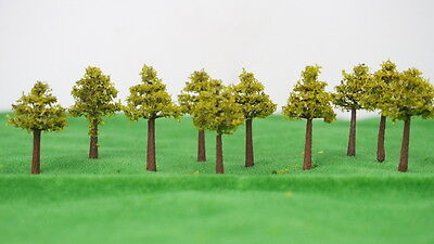 Outland Models Train Railroad Landscape 30mm Autumn Season Tree x10 N Z Scale