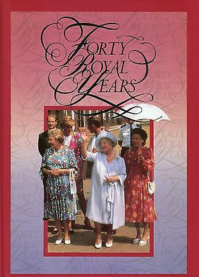 'forty Royal Years' Australia Post Book 1992  (Rr)