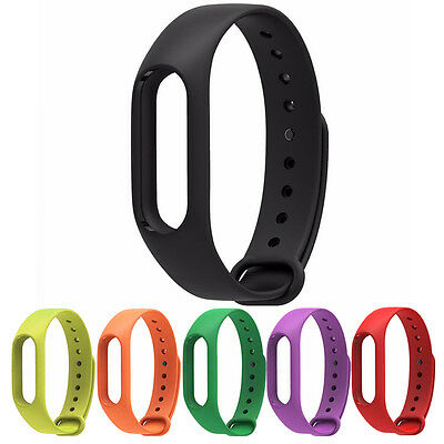 1* Smart Bracelet Band Replacement Silicone Wrist Strap For Xiaomi 2 Mi Band 2