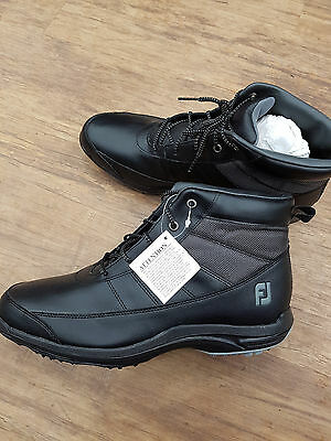 Footjoy Boots Golf Shoes - Size 7 - Black - Brand New