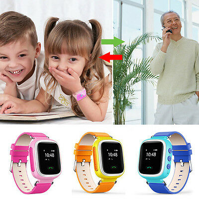 Children Kids GPRS Anti-Lost Smart Watch GPS GSM Tracker For Android IOS Phone