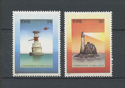 IRLANDE - 1986 YT 604 à 605 PHARES - TIMBRES NEUFS** MNH