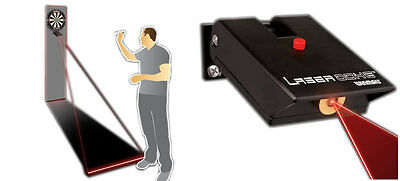 Top Brand Winmau Laser Oche Mark Your Throw Line No Darts Mat Projector Beam