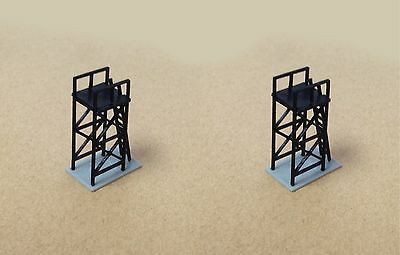 Outland Models Train Railroad Maint. / Signal Platform x2 for Station Z Scale