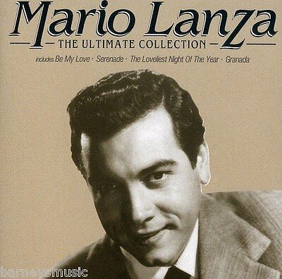 Mario Lanza (New Sealed Cd) The Ultimate Collection Very Best Of Greatest Hits