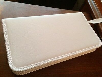 New White CD DVD Wallet Storage Case Organizer Holds 48 Ships from U.S.