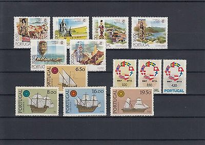 90.513/ Portugal ** MNH Lot /  Mixture Landschaften, Nato Schiffe