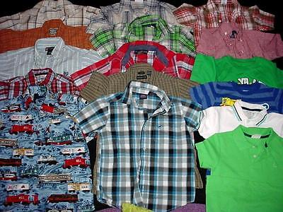 USED BABY BOY TODDLER TOPS T-SHIRT 5T 6T SPRING SUMMER CLOTHES LOT FreeShipping