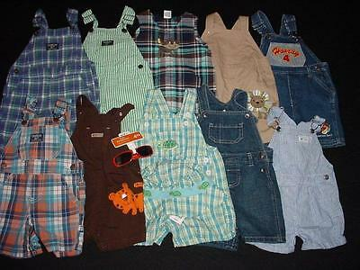 Used Baby Boy One Piece 12 18 Months Spring Summer Overall Shorts Clothes Lot