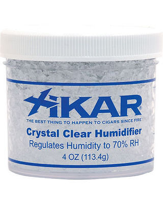 XiKAR 808Xi 4oz Crystal Cigar Humidifier Humidification Jar 3 Pack