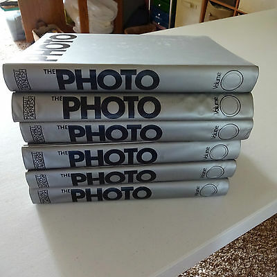 "Marshall Cavendish ""The Photo"" 6 binders - 1-90 issues"