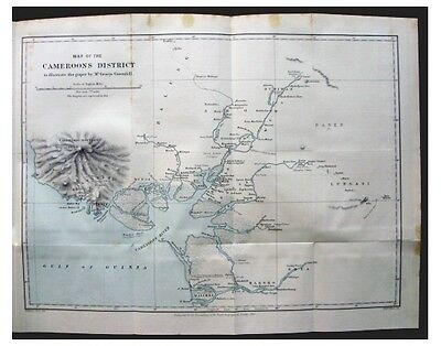 1882 Grenfell - UNCHARTED CAMEROONS - POLYGAMY - WITH COLOR MAP - 10