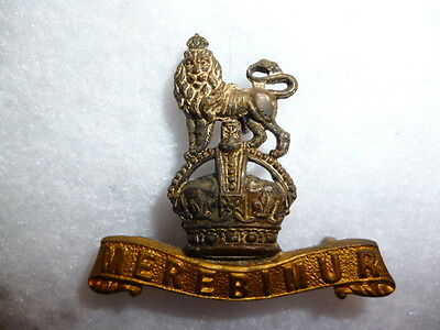 The 15th King's Hussars Officer's KC Silver & Gilt Collar Badge
