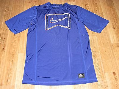 Nike Athletic Shirt, Boys Size Large, 12-13 Years, Navy Color, Good Condition,