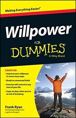 Willpower for Dummies by Ryan, Frank Book The Cheap Fast Free Post
