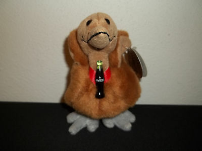 "1999 Coca-Cola International Collection ""kelp"" New Zealand Beanie Baby"