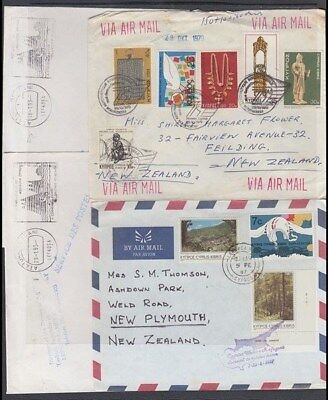 CYPRUS 1990's/2000's COVERS TO NEW ZEALAND (x12) (ID:339/D45182)