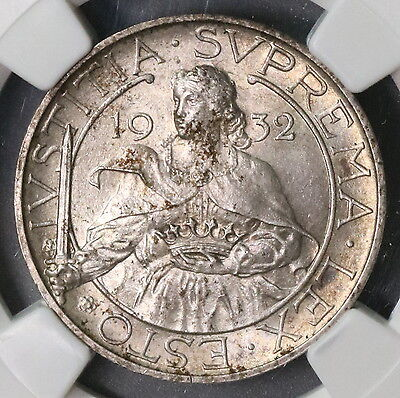 1932 NGC MS 63 SAN MARINO Silver 10 lire 25K Coins Minted (16112509C)