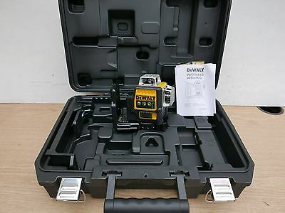 Dewalt Dce089G 10.8V Xr 360* Multi Line Green Laser Bare Unit + Bracket & Case