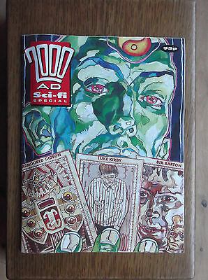2000AD Sci-fi SPECIAL HOLIDAY SPECIAL 1990 CLASSIC THRILL-POWER ARMOURED GIDEON