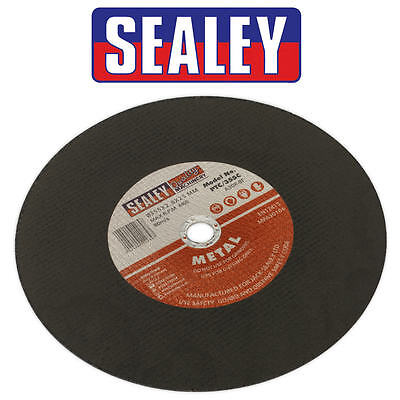Sealey PTC/355C Metal Cutting Disc Single 355mm x 25.4mm Bore For SM355D Saw