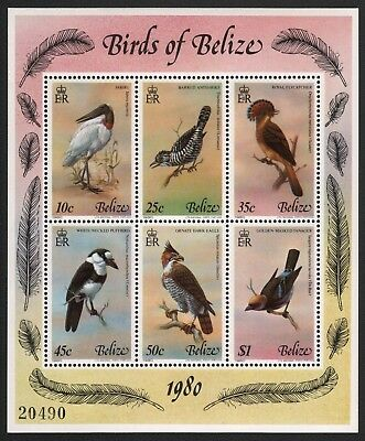 Belize 1980 - Mi-Nr. Block 18 ** - MNH - Vögel / Birds