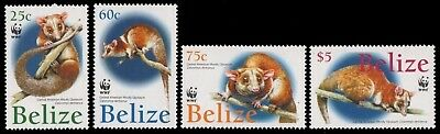 Belize 2004 - Mi-Nr. 1285-1288 ** - MNH - Wildtiere / Wild animals
